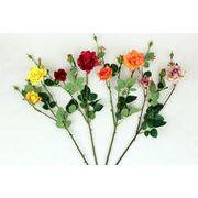 ローズスプレーX5(L) 造花 アーティフィシャルフラワー