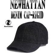 NEWHATTAN COTTON  DENIM CAP-RIGID  13385