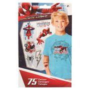 スパイダーマン 75タトゥーシール