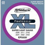 DAddario エレキギター弦 EPS520 S.Light 009-042