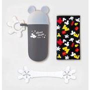 【ケース販売は送料無料!!】錦化成 ミッキーマウス ビブクリップ&ハンカチセット