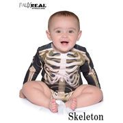 FAUX REAL Infant Skeleton Long Sleeve  13475