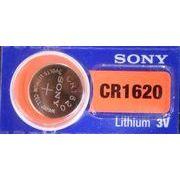 SONY/muRata CR1620 リチウムコイン電池 海外パッケージ