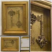 ★ 【 RoyalSalon Decoration 】★ 可愛いデザイン ♪ ロイヤルサロン ウォールデコレーション♪Key♪