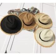 ★韓国風★人気商品★草編み帽子★★新品★帽子★麦わら帽子★キャップ★トッパー★