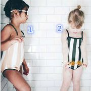 新作♪子供水着☆激安】☆キッズ女の子  男の子水着☆夏の定番彡(80cm-120cm)