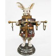 <AMANO>【レジン製ウサギ】トランプラビット・フック