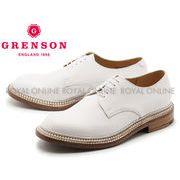 【グレンソン】 5199G カート CURT TRIPLE WELTプレーントゥ シューズ 紳士靴 ホワイト メンズ