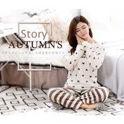 大きいサイズ 上下セット パジャマ☆寝巻き部屋着 秋冬新品