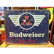 アメリカンブリキ看板 バドワイザー1936年ロゴ