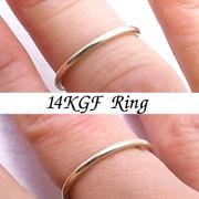 ゴールドフィルド イエロー リングパーツ リング・指輪としてお使い頂けます