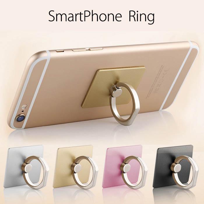 【一部即納】スマホリング リングホルダー ring iphone7 iphone android スマホスタンド 落下防止 4色