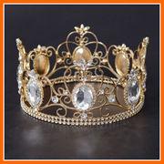 ■即納■ 【新商品】主役のための超豪華◆ゴールドきらきら王冠 !!3861252