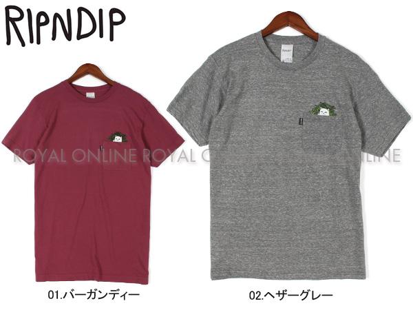 【リップンディップ】 RND1843 半袖Tシャツ CAT NIP POCKET TEE 全2色 メンズ レディース