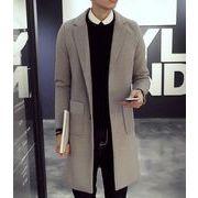 秋冬新作 メンズコート 長袖防寒厚い生地 シンプル魅力大きいサイズ 全4色