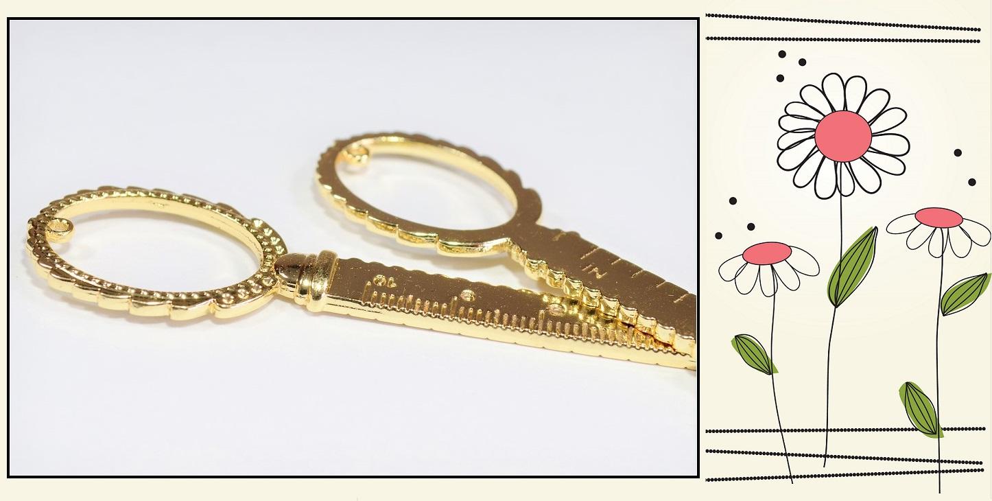 【手芸定規】合金製 飾りフレーム付き オリジナル定規作成可能 レジンフレーム デコパーツ