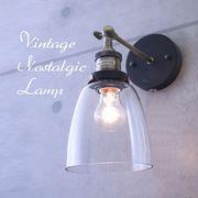 E26/LED対応 ヴィンテージ ノスタルジック ウォールランプ【BD-0509】E26梨型電球、40W