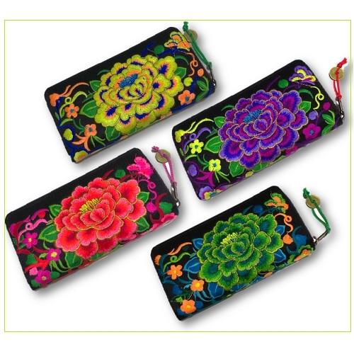 モン族刺繍財布0907284