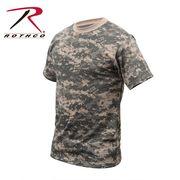 ROTHCO ロスコ 迷彩柄 半袖 Tシャツ アーミーコンバット柄 USA アメリカ直輸入