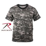 ROTHCO ロスコ 迷彩柄 半袖 Tシャツ アーバン・カモフラージュ柄 USA アメリカ直輸入 ミリタリーTシャツ