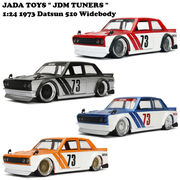 JADATOYS 1:24 JDM TUNERS 1973 Datsun 510 Widebody ミニカー【4色チョイス】
