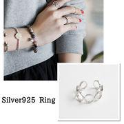 【即配】 シルバー 925 ジュエリークロス付き シルバーリング 指輪 ◆メール便対応可◆