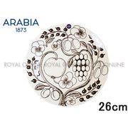 Y) 【アラビア】 006670  プレート 26cm PARATIISI ブラック パラティッシ