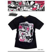 ★繊細なタッチのグラフィックに価値観あり!★EVERSOULアメコミジョニーコラボプリントTシャツ★