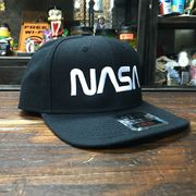 NASA公認 OTTO(オットー)スナップバックキャップ・ウールブレンド・ロゴタイプ(ワーム)