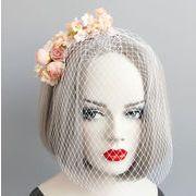 コスプレ 髪飾り 花 仮面舞踏会 ハロウィン 仮装パーティ 宴会