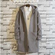 秋冬新作メンズコート ジャケット トップス大きいサイズ♪グレー/ブラック2色