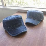 ▼MAGGIO▼ シンプルなデザインが使いやすい◎ デニムワークキャップ (帽子)
