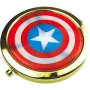 ティーズ マーベル Wコンパクトミラー キャプテン・アメリカ