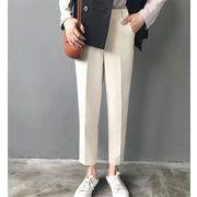 新作レディースパンツ ズボン シンプル キレイ目♪全5色