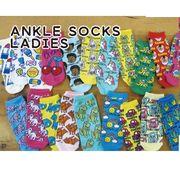 アンクルソックス レディース アメ雑 靴下 ファッション