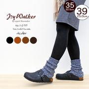 【joy walker】レディースサイズ フッドベッド サンダル 4色