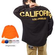 ビッグ シルエット ロング Tシャツ メンズ レディース 長袖 ロンT ストリート 系 ロンティー 大きいサイズ