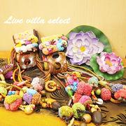 【セール】モン族の飾りココナッツベルト