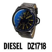 【まとめ割10%OFF】DIESEL ディーゼル 腕時計 DZ1718 ロールケージ / ブラック