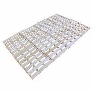Sun Ruck すのこベッド 4つ折り式 高さ2.5cm 通気性 天然桐 木製 セミダブルサイズ SR-SNK012F