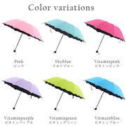 【即納】【2019春夏新作】19ss-048 傘 雨傘 日傘 晴雨兼用 折り畳み UVカット 紫外線対策