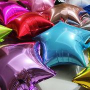 格安☆ハロウィンパーティー★店舗 部屋装飾▲バルーン風船18インチ★道具 装飾balloon 誕生日 スター14色