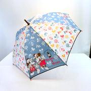 【雨傘】【ジュニア用】55cmミッキー&フレンズアウトドア柄ジャンプ傘