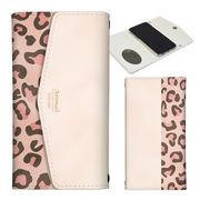 iPhone 11 Pro 7 8 X XS Max XR 手帳型 レター型 ヒョウ柄 レオパード アニマル柄