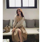 華やかな印象に トレンド 秋冬物 フレンチ 縫付 チュール ランタンスリーブ