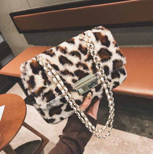 秋冬新作 バッグ 豹柄 レオパード ショルダーバッグ オシャレ レディース