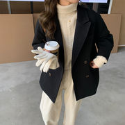 韓国ファッション  ショート丈コート