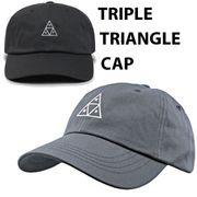 【HUF】(ハフ) TRIPLE TRIANGLE CAP / トリプルトライアングル キャップ 2色
