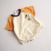 韓国子供服 ベビー ロンパース パーカー カバーオール ジャンプスーツ 通園 男女共用 66-100