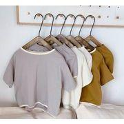 Tシャツ 半ズボン上下セット 子ども キッズ 夏 新作 可愛い シンプル 人気